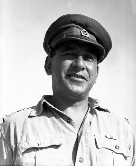 Lieutenant Colonel Keiha in Egypt