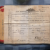 Phillip Andrews (WWI) discharge certificate