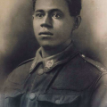 Phillip Andrews in WWI uniform